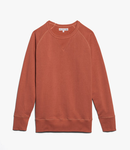Men's <br/>342 crew-neck raglan sweatshirt long slv. <br/>light rust
