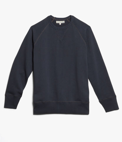 Men's <br/>342 crew-neck raglan sweatshirt long slv. <br/>navy