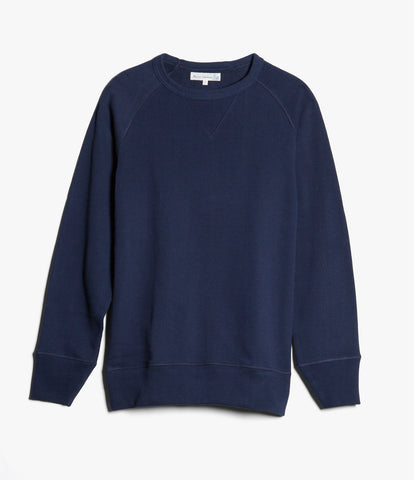 Men's <br/>342 crew-neck raglan sweatshirt long slv. <br/>ink blue