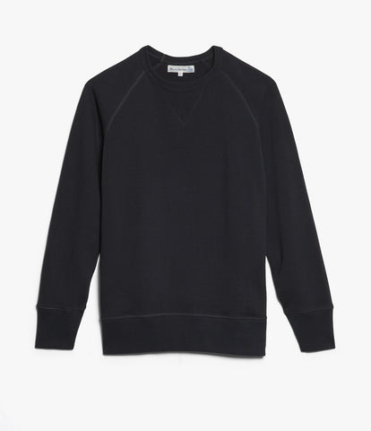 342 crew-neck raglan sweatshirt long slv.<br/>charcoal