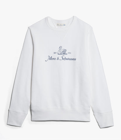 Men's <br/>346MbS crew-neck sweatshirt <br/>white