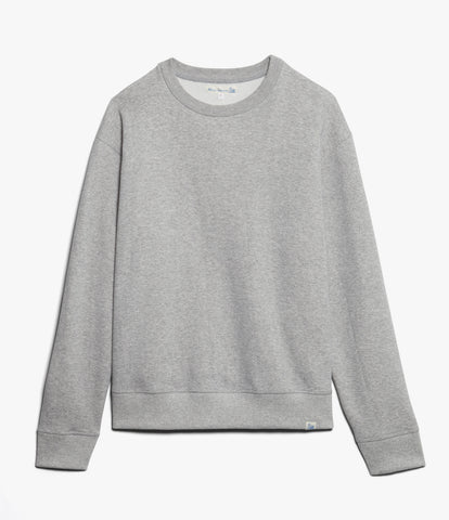 346OS oversized crew-neck sweatshirt<br/>grey mel.