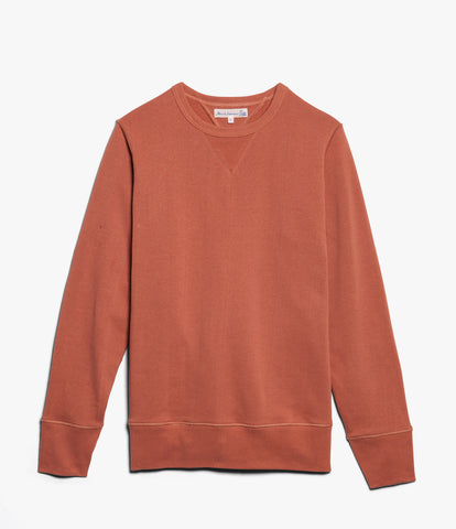 Men's <br/>346 crew-neck sweatshirt <br/>light rust