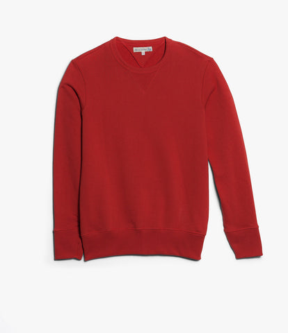 Men's <br/>346 crew-neck sweatshirt <br/>red
