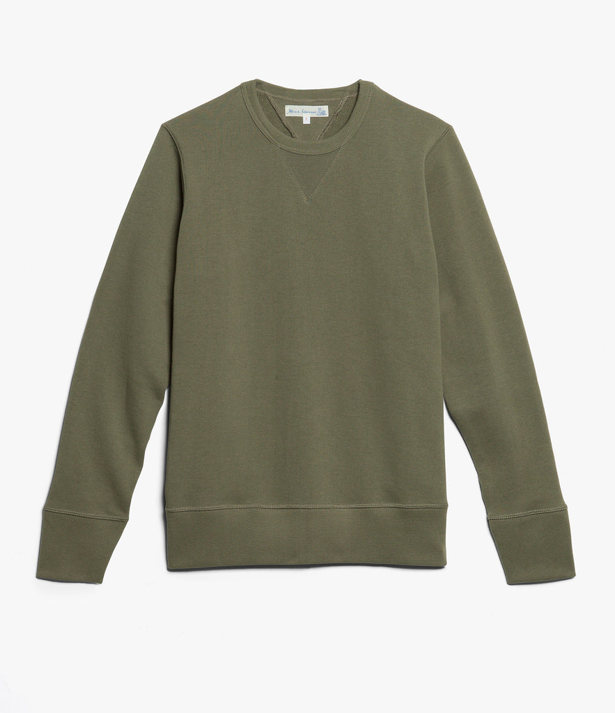 346 crew-neck sweatshirt<br/>army