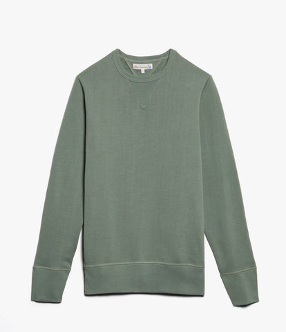 Men's <br/>346 crew-neck sweatshirt <br/>light army