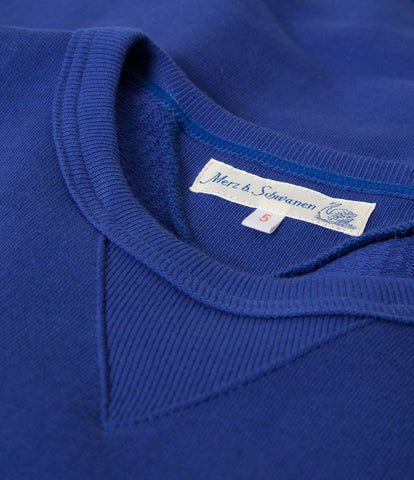 346 crew-neck sweatshirt<br/>electric blue