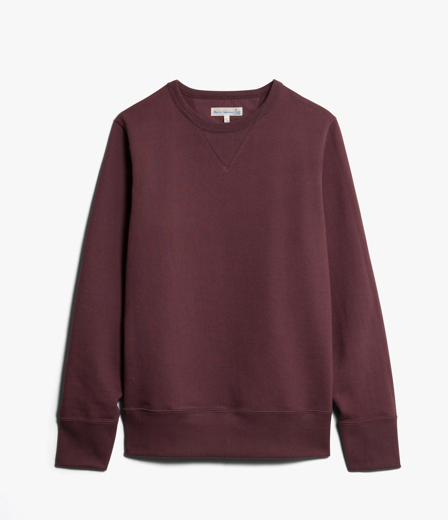 Men's <br/>3S48 crew-neck sweatshirt heavy <br/>red oak