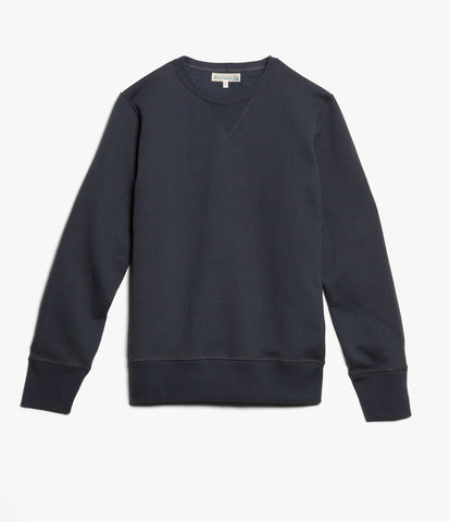 Men's <br/>3S48 crew-neck sweatshirt heavy <br/>navy