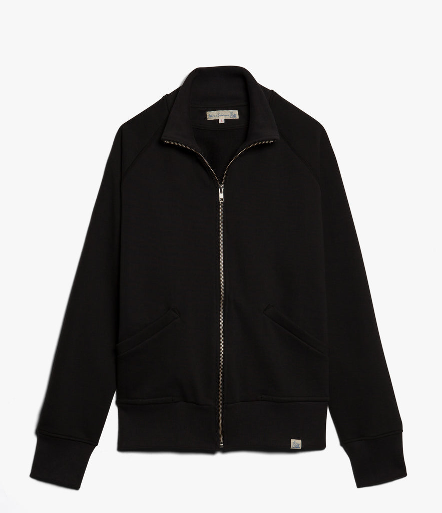Men's <br/>3S81 Raglan Zip Jacket <br/>deep black