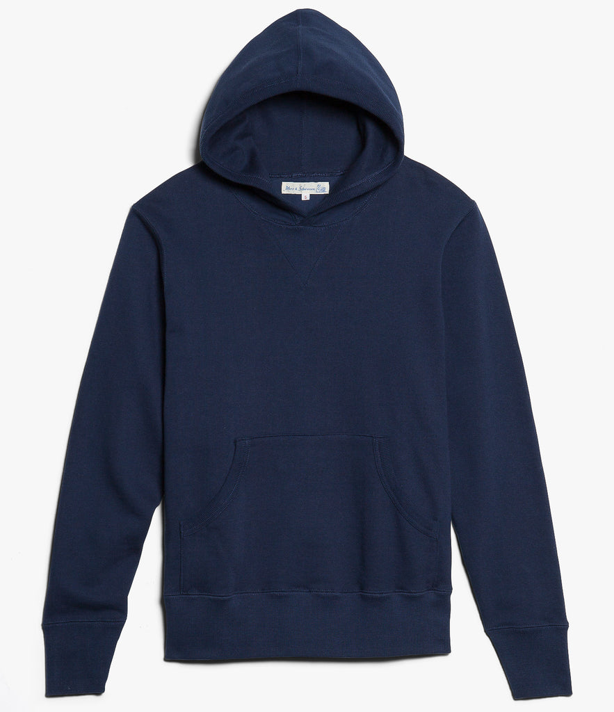 3S82 hooded sweater<br/>ink blue
