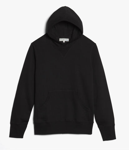 Men's <br/>3S82 hooded sweater <br/>deep black