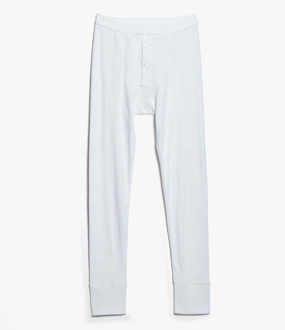 552 Strickflausch Long Johns<br/>white