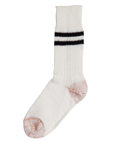Unisex <br/>B75 bamboo socks striped <br/>white-black