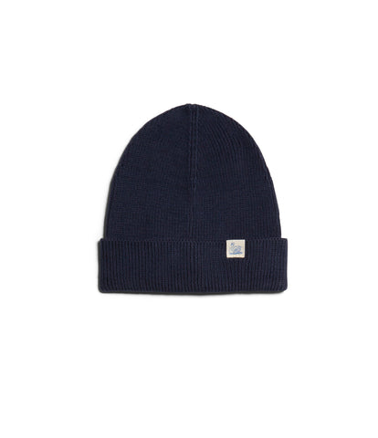 Unisex <br/>C91 cotton beanie <br/>navy