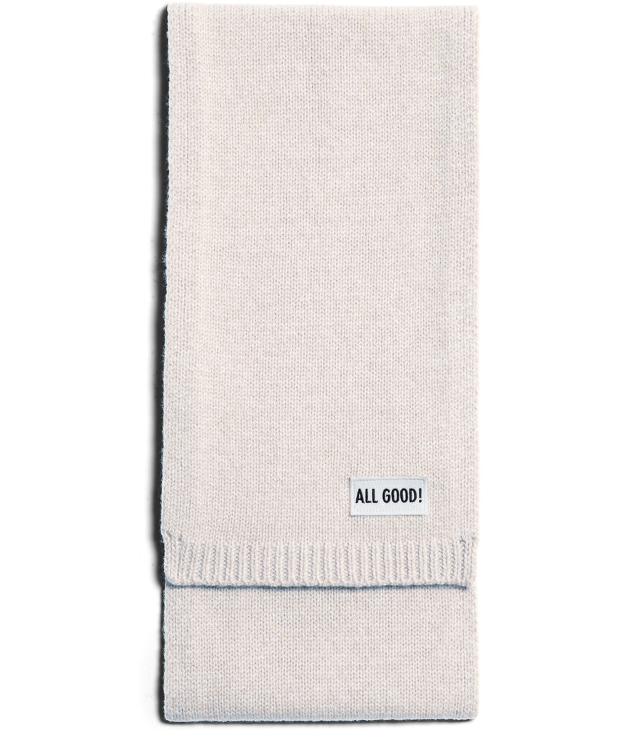 Unisex <br/>LO.SC cashmere-merino wool scarf <br/>nature