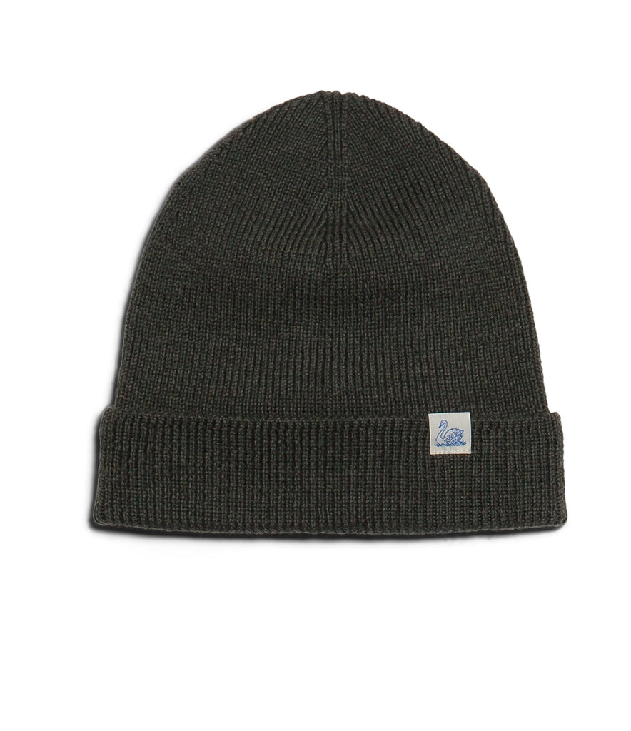 M91 merino knitted beanie<br/>army