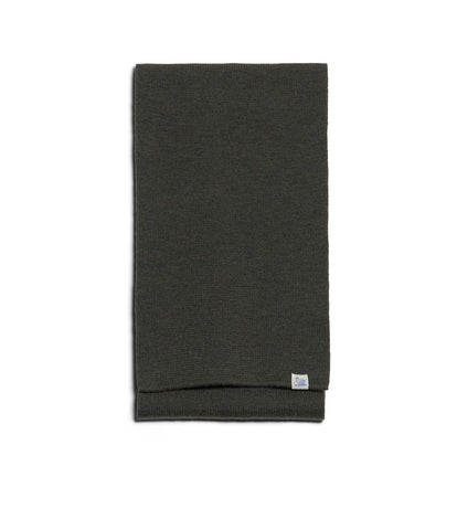 M92 merino knitted scarf<br/>army