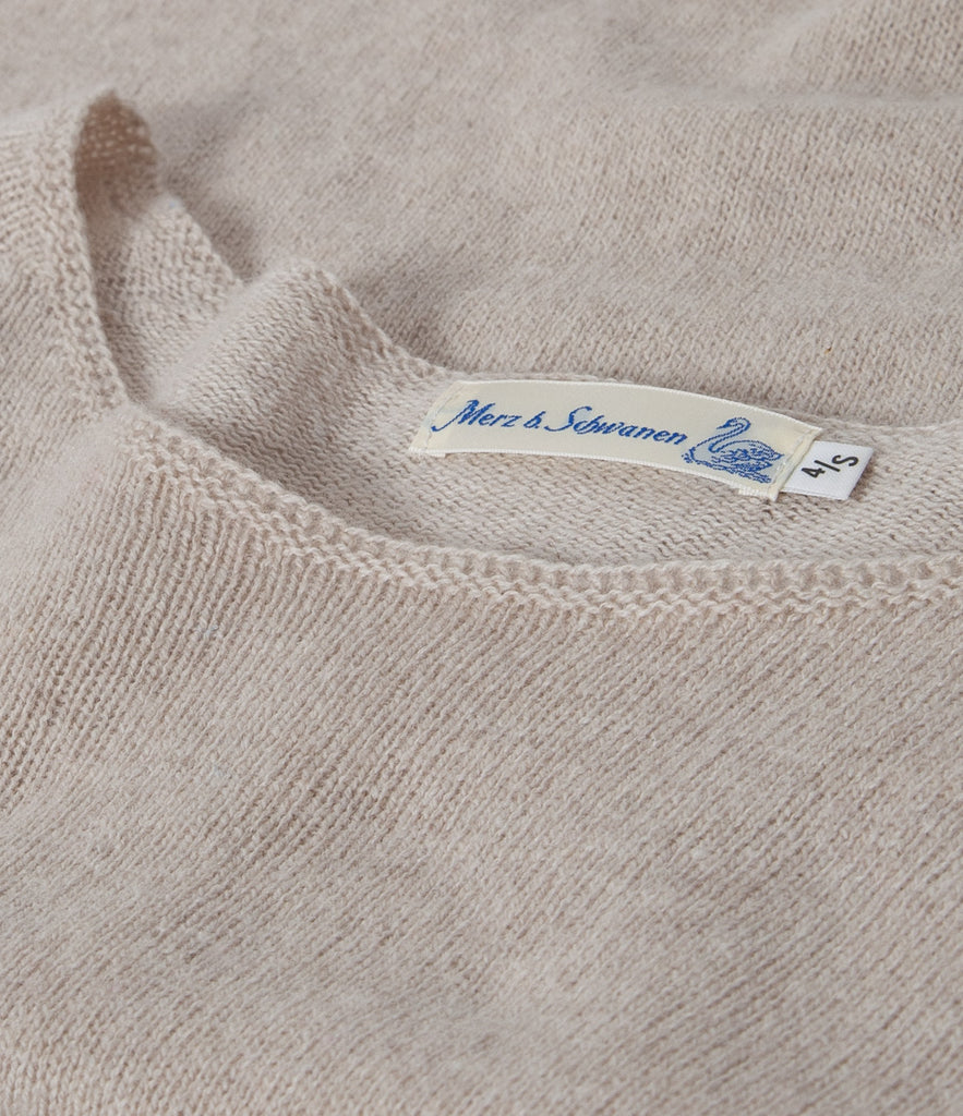 Women's <br/>SK.CN01 crew-neck pullover <br/>nature mel.