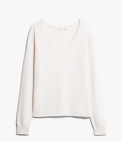 Women's <br/>SK.VN01 V-neck pullover <br/>nature