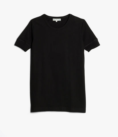 1960's army tee<br/>deep black