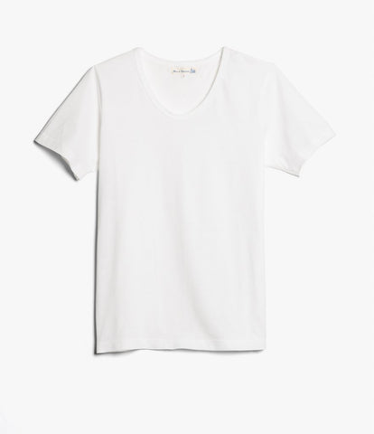 Men's <br/>1970's v-neck tee <br/>white