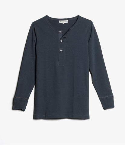 Men's <br/>206 henley long sleeve <br/>navy