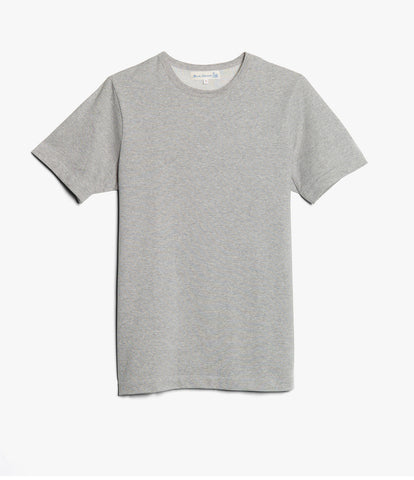 Men's <br/>215 classic crew neck T-shirt <br/>grey mel.