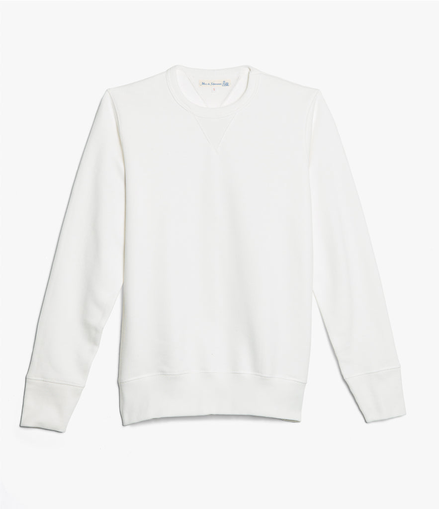 Men's <br/>346 crew-neck sweatshirt <br/>white