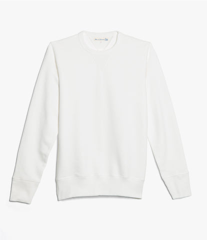 346 crew-neck sweatshirt<br/>white