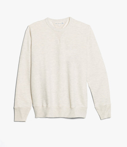 Men's <br/>346 crew-neck sweatshirt <br/>nature mel.