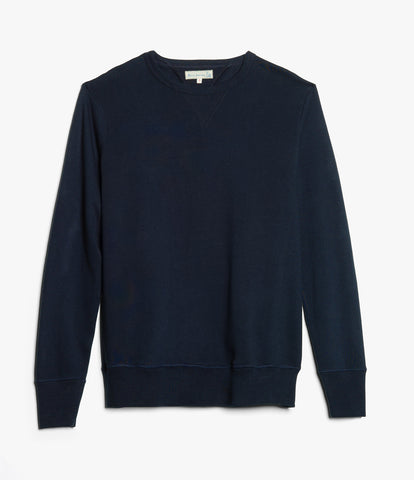 Men's <br/>346 crew-neck sweatshirt <br/>ink blue