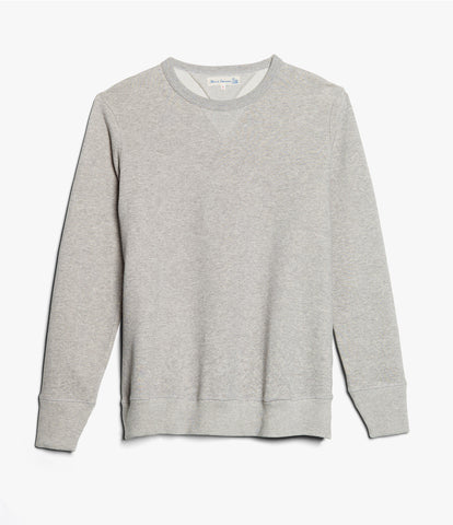 Men's <br/>346 crew-neck sweatshirt <br/>grey mel.