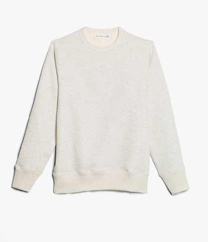 Men's <br/>3S48 crew-neck sweatshirt heavy <br/>nature mel.