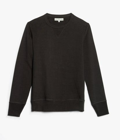 3S48 crew-neck sweatshirt heavy<br/>charcoal