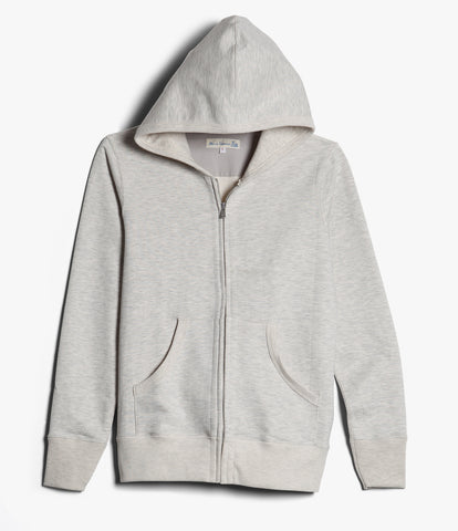Men's<br/>3S80 hooded zip jacket<br/>nature mel.