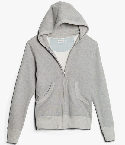 Men's<br/>3S80 hooded zip jacket<br/>grey mel.