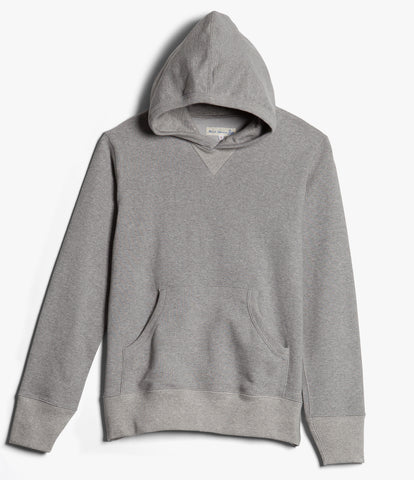 3S82 hooded sweater<br/>grey mel.