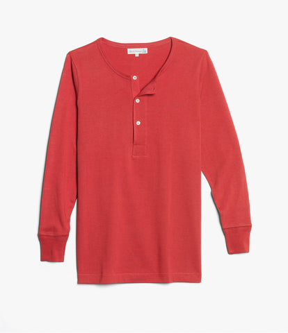 206 henley long sleeve<br/>red