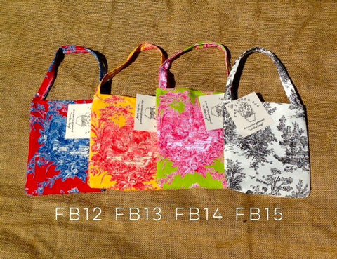The Flower Bag™ Toile Collection