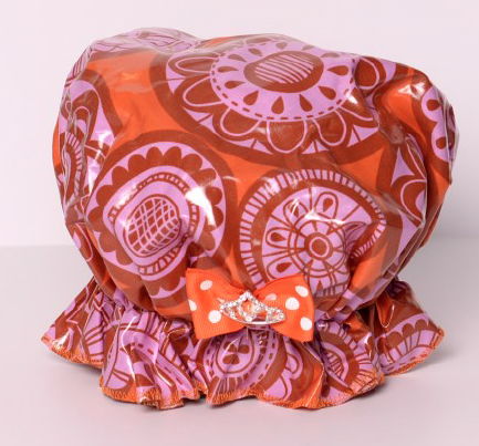 Save The Do™ Pink & Orange Shower Cap