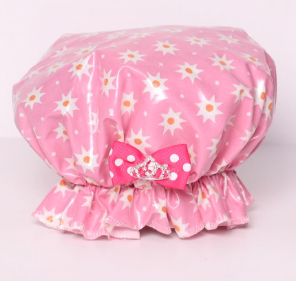 Save The Do™ Pink Star Shower Cap