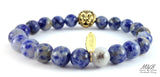 Zion Blue Vein M&B Lion Bracelet