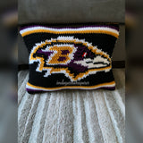 Baltimore Ravens Throw Pillow PATTERN