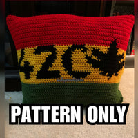 420 Throw Pillow PATTERN