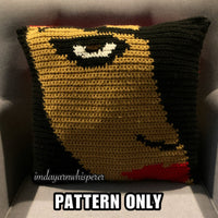 Aaliyah Throw Pillow PATTERN