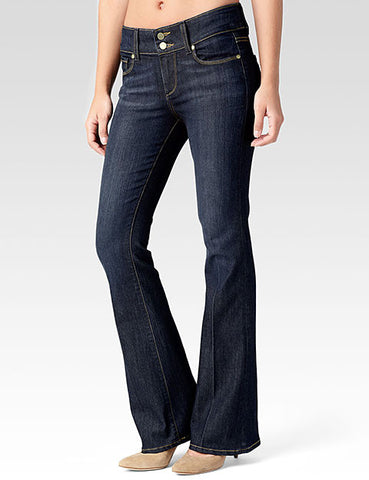 Paige Denim Hidden Hills High Rise Boot Cut jeans in Memphis wash - in stock