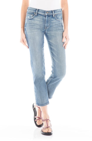 Axl Crop Crystal Blue - Fidelity Denim
