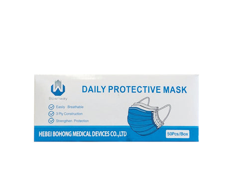 Masks - 3 ply, 50/Box