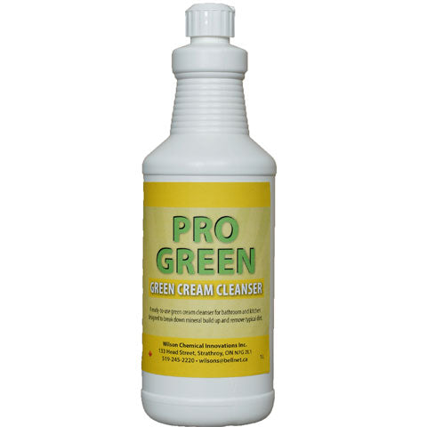 Pro-Green Cream Cleanser -12 X 1L/Case